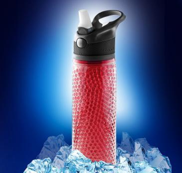 Термобутылка Asobu Deep freeze (0,6 литра), красная