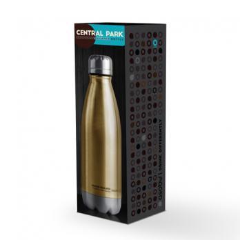 Термос-бутылка Asobu Central park (0,51 литра), золотистая*
