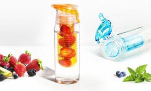 Бутылка Asobu Flavour it 2 go (0,6 литра), оранжевая