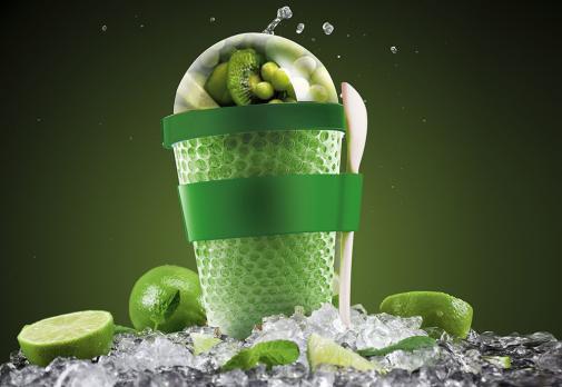 Контейнер Asobu Chill yo 2 go (0,38 литра), зеленый*