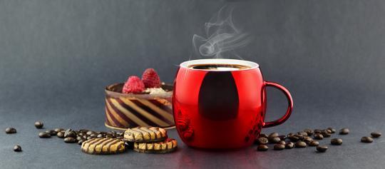 Кружка Asobu Sparkling mugs (0,38 литра), красная