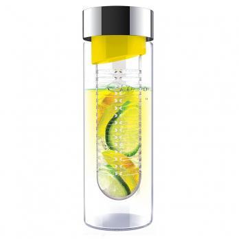 Бутылка Asobu Flavour it (0,48 литра), желтая*