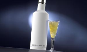 Термос-бутылка Asobu Times square (0,45 литра), белая*