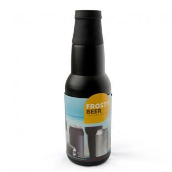 Термоконтейнер для банок и бутылок Asobu Frosty to 2 go chiller, черный