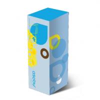 Бутылка Asobu Flavour it 2 go (0,6 литра), голубая