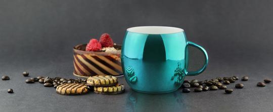 Кружка Asobu Sparkling mugs (0,38 литра), голубая