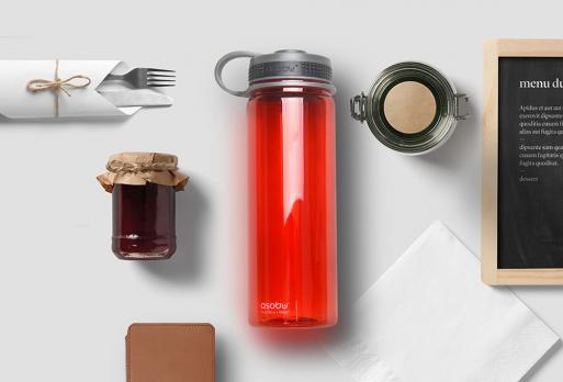 Бутылка спортивная Asobu Pinnacle (0,72 литра), красная