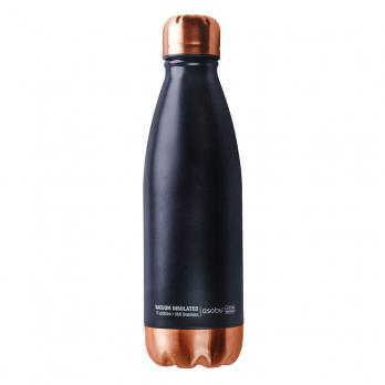 Термос-бутылка Asobu Central park (0,51 литра), черная/медная*