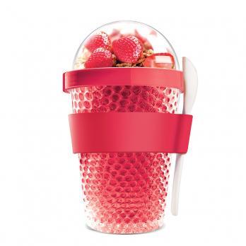 Контейнер Asobu Chill yo 2 go (0,38 литра), красный*