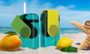 Мини-бокс для сока Asobu Juicy box (0,29 литра), желтый*