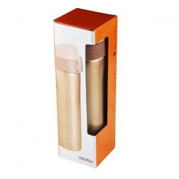 Термокружка Asobu Diva cup (0,45 литра), коричневая