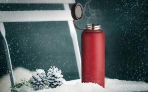 Термос Asobu Mighty flask (1,1 литра), красный