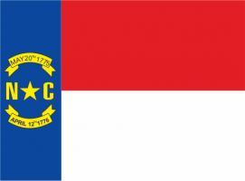 Флаг штата Северная Каролина(США)