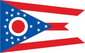 Флаг штата Огайо(США)