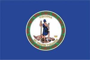 Флаг штата Виргиния(США)