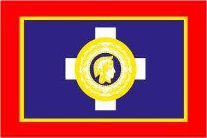Флаг города Афины