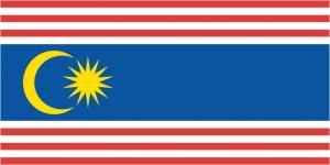 Флаг города Куала-Лумпур