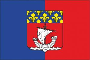 Флаг города Париж
