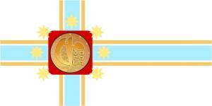 Флаг города Тбилиси