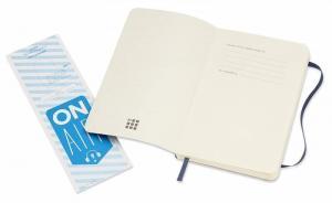 Блокнот Moleskine Classic Soft, цвет синий, пунктир