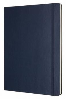 Блокнот Moleskine Classic XLarge, цвет синий, без разлиновки