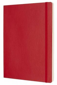 Блокнот Moleskine Classic Soft, цвет красный, пунктир