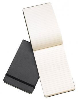 Блокнот Moleskine Reporter, цвет черный, без разлиновки