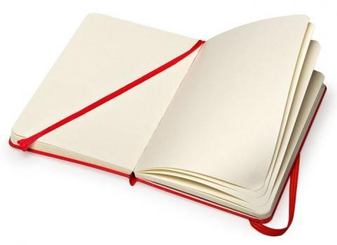 Блокнот для рисования Moleskine Classic Sketchbook, цвет красный