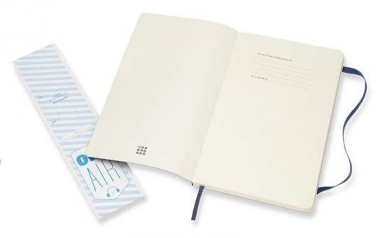 Блокнот Moleskine Classic Soft, цвет синий сапфир, в линейку