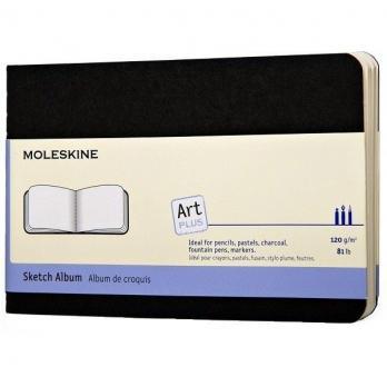 Блокнот для рисования Moleskine Cahier Sketch Album Pocket, цвет черный