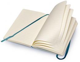 Блокнот Moleskine Classic Soft, цвет синий сапфир, без разлиновки