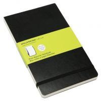 Блокнот Moleskine Reporter Soft, цвет черный, без разлиновки
