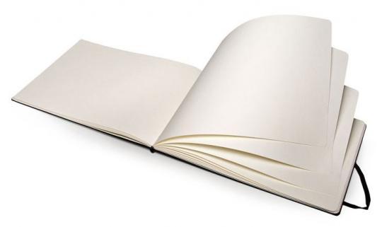 Блокнот для акварели Moleskine Classic Watercolour Notebook, цвет черный