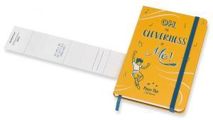 Блокнот Moleskine Peter Pan Pocket LE, цвет желтый Peter, в линейку