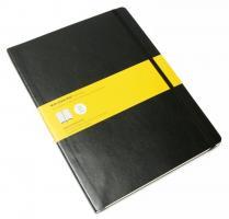 Блокнот Moleskine Classic Soft, цвет черный, в клетку