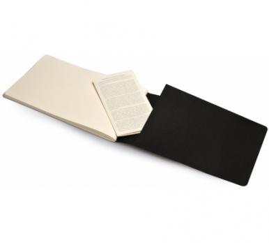Блокнот для рисования Moleskine Cahier Sketch Album Large, цвет черный
