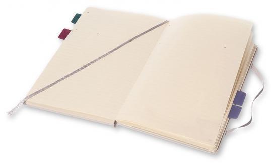 Блокнот Moleskine Professional Large, цвет серый, в линейку