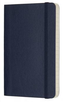 Блокнот Moleskine Classic Soft, цвет синий, в линейку