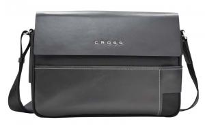 Сумка Cross Seville, чёрная, 35х25х9 см