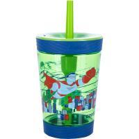Стакан детский для воды с трубочкой Contigo Spill Proof Tumbler (0,42 литра), зеленый