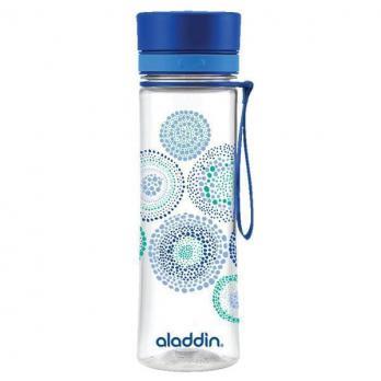 Бутылка Aladdin Aveo (0,6 литра), с синим узором