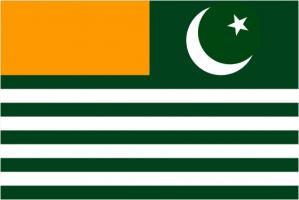 Флаг Азад Кашмира
