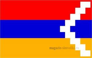 Флаг Нагорного Карабаха