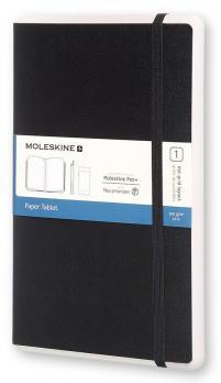 Блокнот Moleskine Paper Tablet Large, цвет черный, пунктир