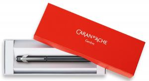 Carandache Office 849 Classic - Matte Navy Blue, перьевая ручка, F, подарочная коробка