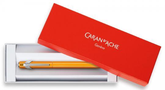 Carandache Office 849 Fluo - Оранжевый флуоресцентный, перьевая ручка, F, подарочная коробка