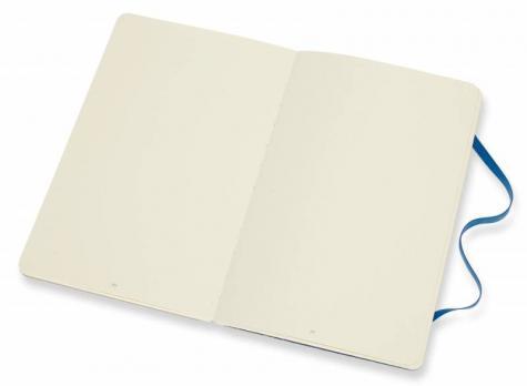 Блокнот Moleskine Time notebooks LE, цвет синий, без разлиновки