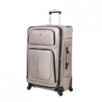 Чемодан Wenger Sion, светло-серый, 46x29x80 см, 90 л