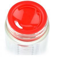 Бутылка Asobu Flavour it (0,48 литра), красная с серебристым*