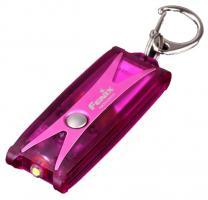 Фонарь-брелок светодиодный Fenix UC01 фиолетовый, 45 лм, встроенный аккумулятор